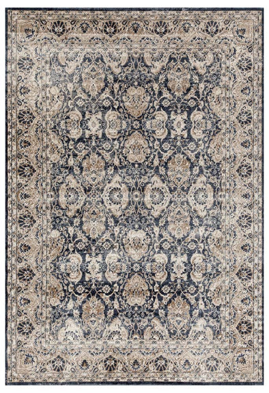 Esquire Balance Traditional Blue Rug - Fantastic Rugs