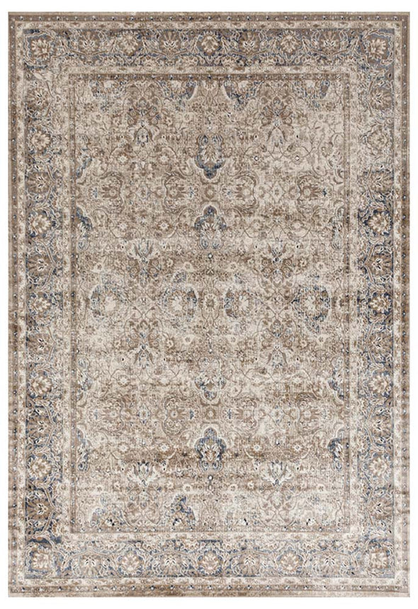 Esquire Ballad Traditional Cream Rug