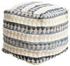 Rug Culture Home 515 Blue Ottoman - Fantastic Rugs