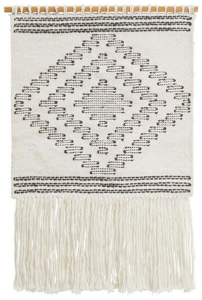 Rug Culture Home 426 White Wall Hanging - Fantastic Rugs