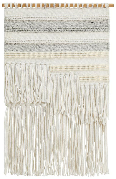 Rug Culture Home 427 Silver Wall Hanging - Fantastic Rugs