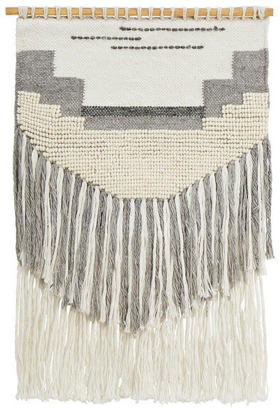 Rug Culture Home 433 Grey Wall Hanging