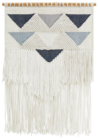 Rug Culture Home 434 Blue Wall Hanging - Fantastic Rugs