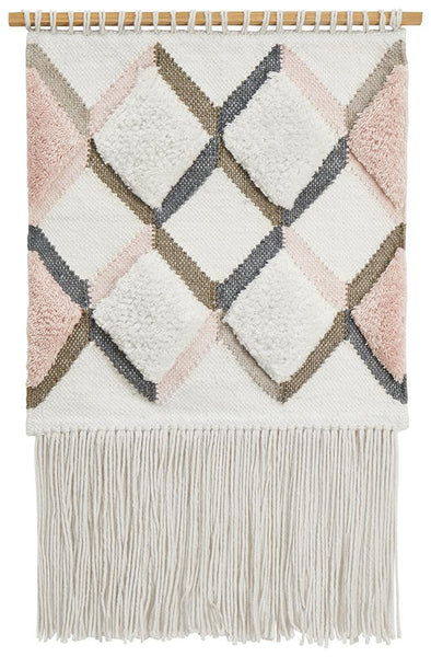 Rug Culture Home 436 Pink Wall Hanging - Fantastic Rugs