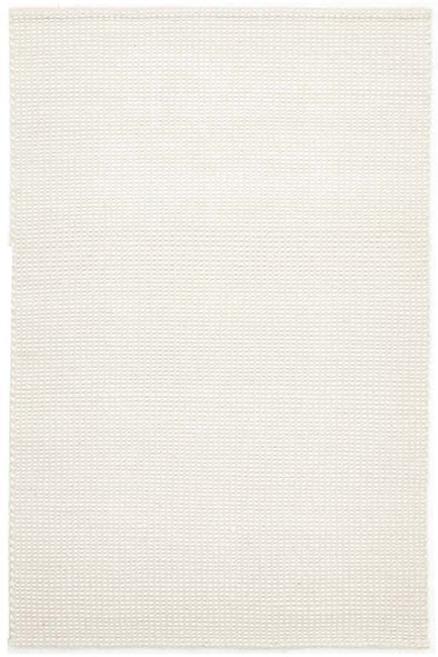 Carlos Felted Wool Rug White Natural - Fantastic Rugs
