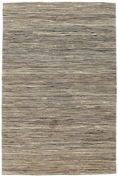 Java Flatweave Black Wool Rug - Fantastic Rugs