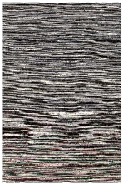 Java Flatweave Navy Wool Rug - Fantastic Rugs