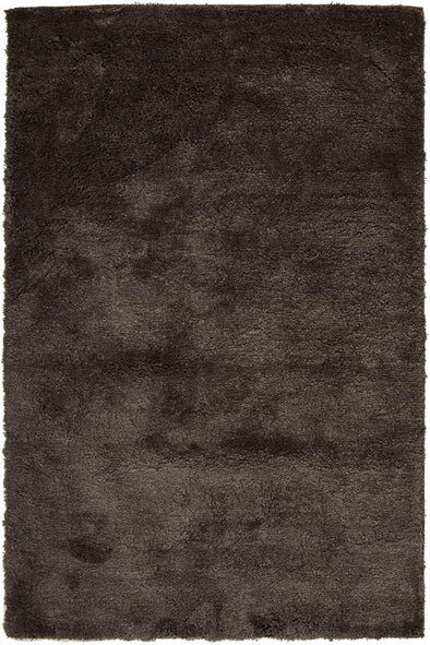 Texture Shag Rug Dark Brown - Fantastic Rugs