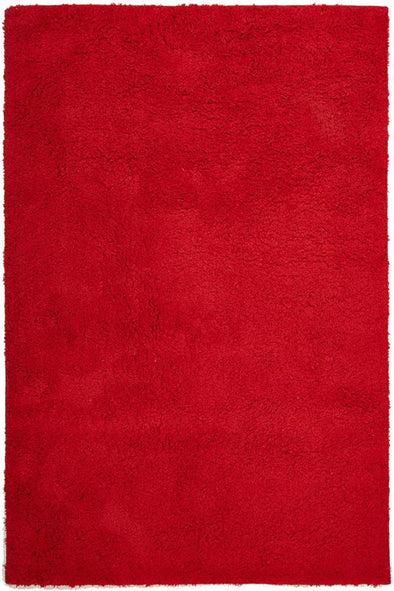 Texture Shag Rug Red - Fantastic Rugs