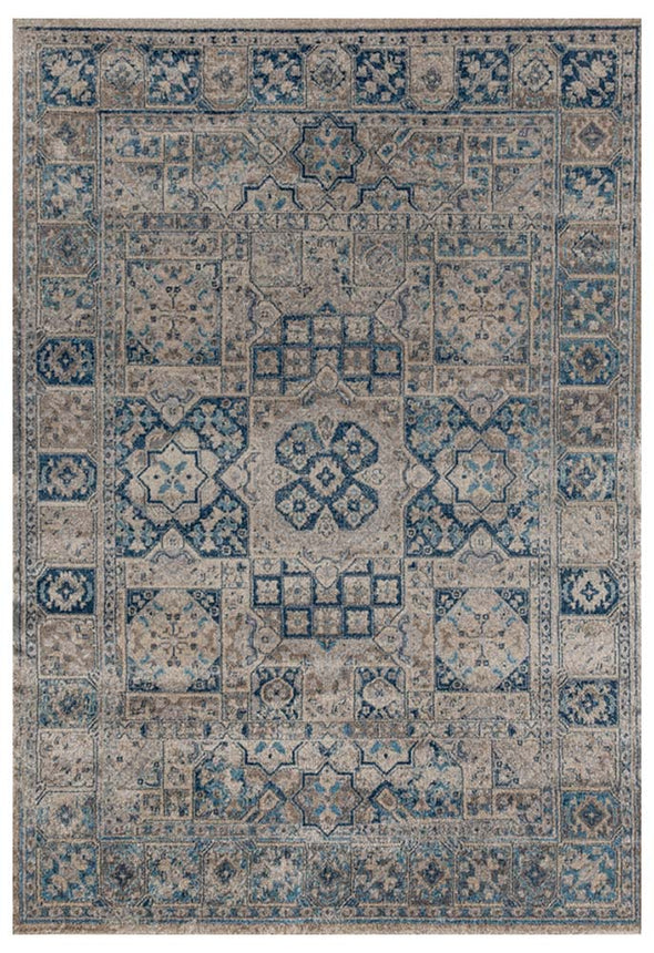 Breeze Fraction Bone Rug