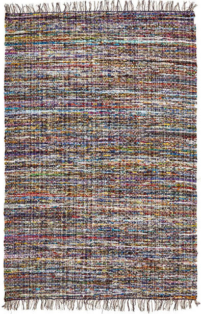 Primal Chindi Cotton Rug Blue - Fantastic Rugs