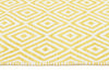 Villa Modern Diamond Rug Yellow