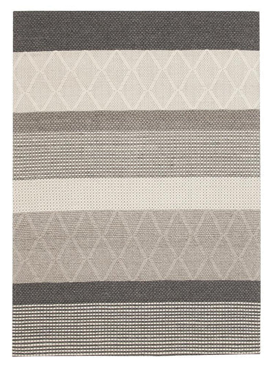 Karlsson Wool Hatch Textured Rug - Fantastic Rugs