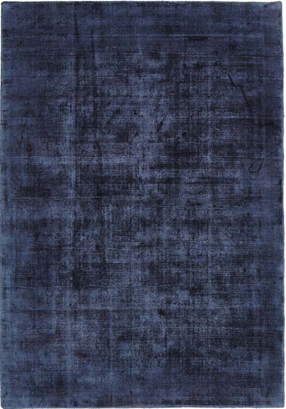 Luxe Modern Distressed Rug Navy - Fantastic Rugs