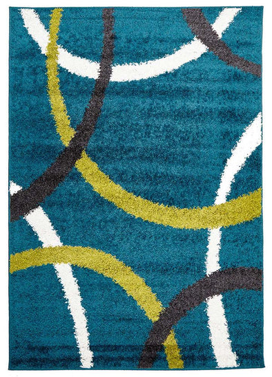 Brooklyn Shag Rug Blue - Fantastic Rugs