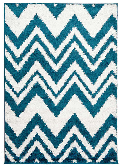 Chevy Shag Rug Blue - Fantastic Rugs