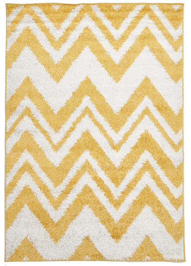 Chevy Shag Rug Yellow - Fantastic Rugs