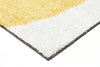 Enigma Shag Rug Yellow Charcoal White - Fantastic Rugs
