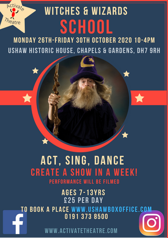 Witches & Wizards Autumn School with Activate Theatre
