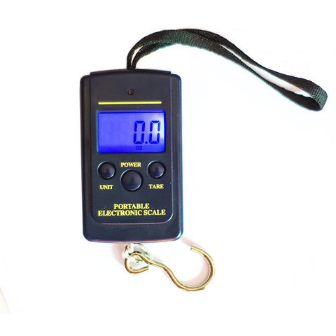 Available C-FXC Pesca Digital Handy Scales Luggage Fishing 40kg 88LB Portable Fish Partner Box Carp Lure Fishing Tackle