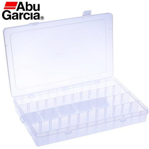 Abu Garcia Brand High Quality Hard Plastic Insert Shutter Fishing Lure Box Accessories Hard Soft Lure Bait Fishing Tackle Box