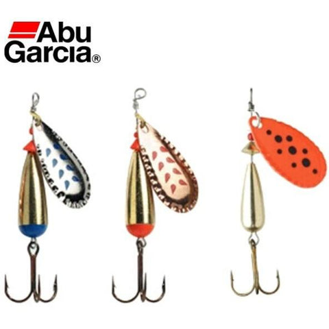 Abu Garcia Brand Droppen Spoon Fishing Lure 4g 6g 8g 10g Spoon Bait S/K/OR color ideal for Bass Trout Perch pike Fishing
