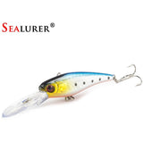 SEALURER 1PCS  Fishing Lure Set New Long Tongue Isca Artificial Wobbler Pesca Fishing Bait fishing tackle Wholesale Minnow