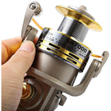 8 BB Fish Ratio 5.5:1 1000-7000 Series Spinning Fishing Reel Crank Handle Carp Fishing Wheel