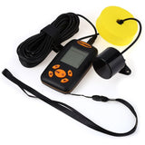 100M Portable Sonar LCD Wireless Depth Fish Finder