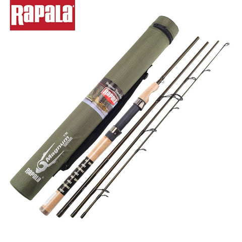 Rapala Magnum 4 Sections M Power Carbon Fiber Fishing Spinning Rod