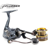 Pflueger Brand 9225XT / 9230XT / 9235XT Supreme XT Spinning Fishing Reel 10BB Freshwater Carp Fishing Gear for Feeder Fishing