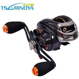 Trulinoya Brand TS1200 14 BB Baitcasting Fishing Reel Right / Left Hand Bait Casting Reel Baitcast Reel 209g Lure wheel