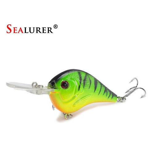 1PCS Fishing Lure Deep Swimming Crankbait 9.5cm11.4g