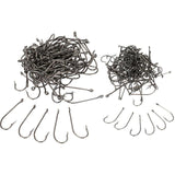 100pcs/lot Size 1# / 6# High Carbon Steel Fishing Hooks