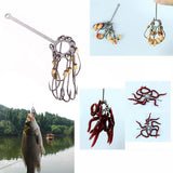 4pcs Barbed Multi-Hook Plate Fishing Explosion-Hook Tackle Capture off Ability Sharp Fishhook Consists Of 9 SharpHook