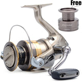 2016 NEW Arrival Shimano Brand Exage 1000 2500 3000S 4000 FD Spinning Fishing Reel 5BB Coarse Fishing Tackle  Lightweight XGT -7