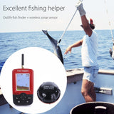 Smart Portable Depth Fish Finder with 100 M Wireless