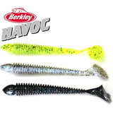 Berkley Brand Havoc Series Beat Shad HVMBS4 10cm Soft Worm Bait Artificial Swimbait for big bass Finesse Fishing 8pcs/bag