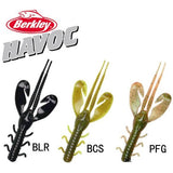 Berkley Brand Havoc Series Rocket Craw HVMRC4 10cm Soft Swimbait Artificial Fishing Worm Bait 8pcs/bag for big Sea Bass Fishing