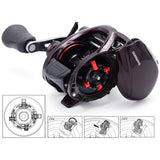 Original Shimano 2014 Scorpion 200 201 200HG 201HG RightLeft Hand Baitcasting Fishing Reel 8BB Saltwater fishing reel 210g 5.5kg