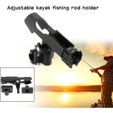 Fishing Tackle Tool Boat Fising Rod Holder Stand for ssault Boats Kayaking Yacht