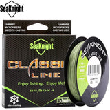 2017 Seaknight 300M 328Yds Multifilament Fishing Line Braided Fishing Line 6-80LB Braid Fishing PE Line Strong Japan 4 Strand
