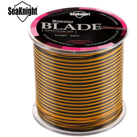 NEW Product SeaKnight Brand 500M Multicolor Nylon Fishing Line Monofilament Fishing Wire Material From Japan Daiwa Quality Line