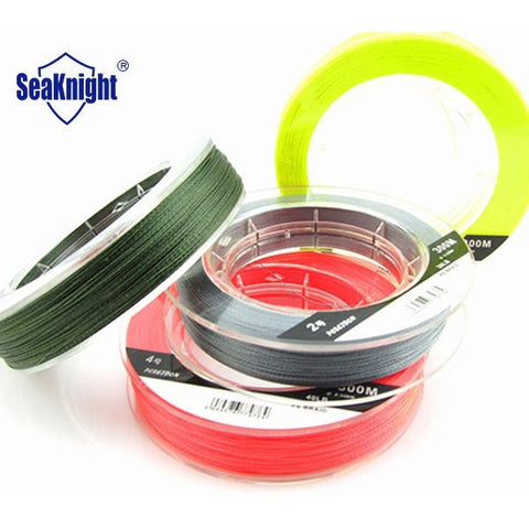 Poseidon Brand Superior Quality 300m PE Floating Multifilament Fishing Line Braided 4 strands Carp Fishing Rope 8-60LB