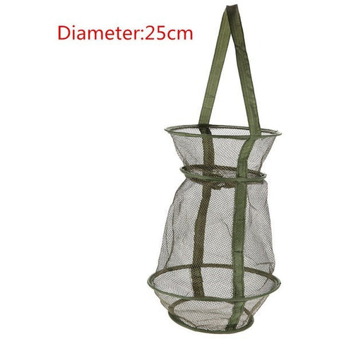 Hot Sale 4 Size 3 Layer Portable Fishing Net Fish Shrimp Mesh Cage Cast Net Fishing Trap Network Foldable Fishing Nets Tackle