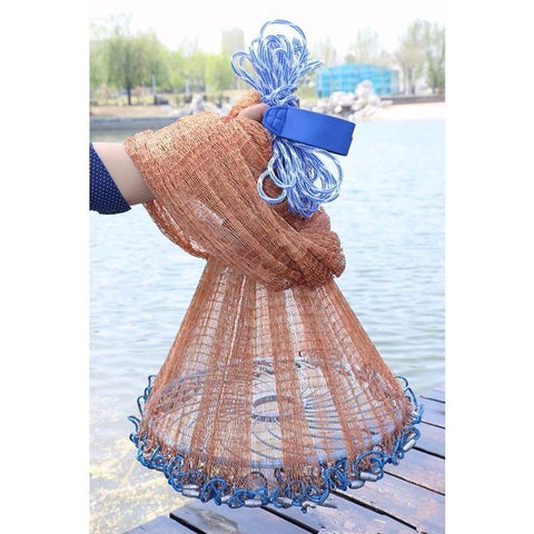 48cm Tire Line Rotary Frisbee 26cm American Network Aluminum Ring Lead Sinkers Cast Net Rings Fishing Net Accessory Tool
