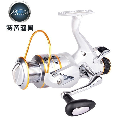 Teben Brand COR 5000 Full Metal 9+1BB 5.0:1 Spinning Fishing Reel FOR Carp Feeder  Fishing Gear pesca 483g  with spare spool