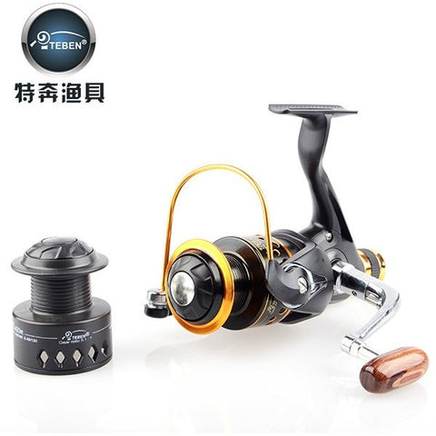 Teben Brand  TNR 500 Metal Spool 9+1BB Carp Fishing Reel  Spinning Fishing Gear  pesca for fishing
