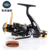 Teben Brand Popular TNR 300 Metal Spool Spinning Fishing Reel 9+1BB Carp Fishing Gear for fishing pesca