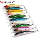 10PCS/LOT 13.5G 11CM Fishing Lure Minnow Lures Hard Bait